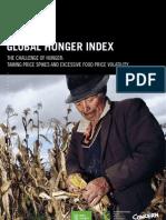 Global Hunger Index 2011