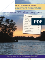Governor's Report Card 2011