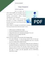 Change Management - Principles