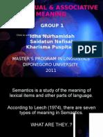 Semantics Group 1