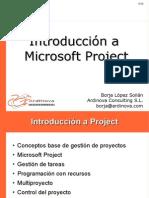 Introduccion a Project