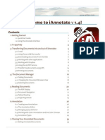 iAnnotate User Guide