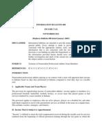 Indiana Department of Revenue, Information Bulletin No. 88 (Nov. 2011)