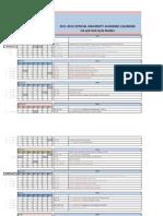 FINAL Academic Calendar 2011 12