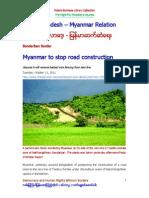 Bangladesh - Myanmar Relation