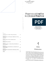 Pharmacokinetics in Clinical Practice - Greenblatt 1985