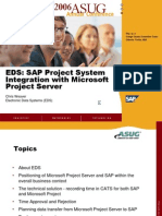 MS Project Integration With PS Module