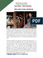 Bo Than Shwe - War Criminal 09