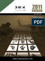 Cadex Defence Catalog 2011
