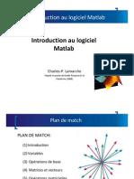 Tutoriel 1 Matlab