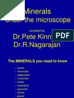 Minerals Under Microscope