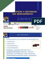 Principios y Criterios de Biocomercio