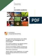 Biocomercio e Investigación - visión desde el ámbito académico