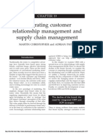 FilePages From Chapter 19. Integrating Customer Relationship Management and Supply Chain Management