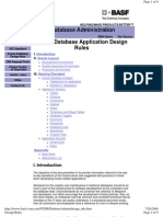 Oracle Database Application Design Rules