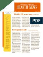 ECM Newsletter Fall 2011