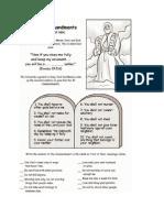 The Ten Commandments in Islam/Bible