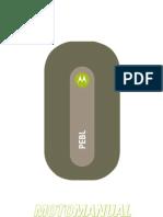 Manual Motorola Pebl u6 (Spanish) Btdexter