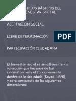Asignatura Bienestar Social