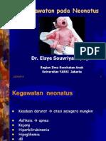 Kegawatan neonatus