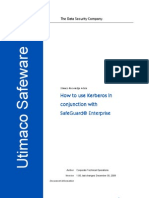 108471-How to Use Kerberos in Cunjunction With SafeGuard Enterprise