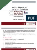 Baromètre CSA Cercle Santé Europ Assistance 2011