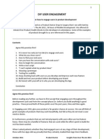 DIY User Engagement, White Paper