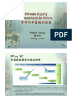 PE Investment in China