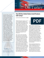 How Will the United States Avoid Paralysis with Turkey?
