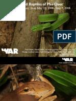 E8. Amphibians and Reptiles Phu Quoc