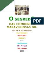 20725066 o Segredo Das has Maravilhosas Dos Fastfoods