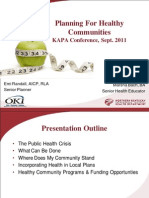 Health in Planning - KAPA Conference 2011