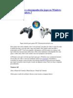 Como aumentar o desempenho dos jogos no Windows XP
