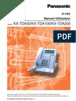 Manuel Utilisateur TDA30
