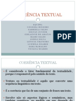 coerencia portugues