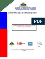 Premiere Communication Nationale Sur Les Changements Climatiques