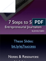 7 Steps to Entrepreneurial Success
