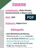 iracema - trabalho de português.. Mylla