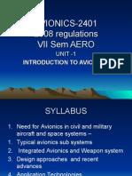Unit-1 Avionics Modified