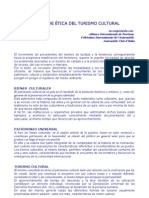 CÓDIGO DE ÉTICA DEL TURISMO CULTURAL