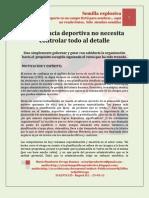 La Gerencia Deportiva No Necesita Controlar Todo Al Detalle - Mario Urrego -02!09!11