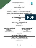 FYP Appraisal Sameer Project
