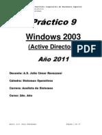 Práctico Nro. 10 (Active Directory)