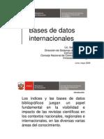 Bases de Datos Internacionales-Biocomercio