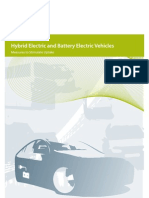 Hybrid Electric and Battery Electric Vehicles - Measures to Stimulate Uptake