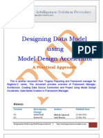 Designing Data Model