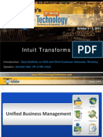 Intuit Transforms HR - HR Technology Conference 2011