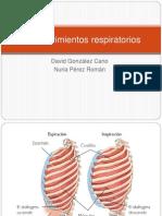 Los Movimientos Respiratorios Ppt