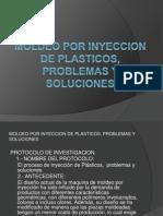 Moldeo Por Inyeccion de Plasticos Problemas y