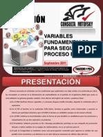 MEXICO elecciones 2012 - Variables Septiembre 2011